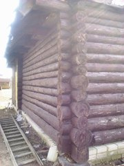 Продам сруб 7м x 7м для дома или бани в Ростовском районе Ярославской